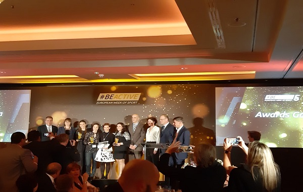 EuropeActive, European Week of Sport, BeActive, Awards