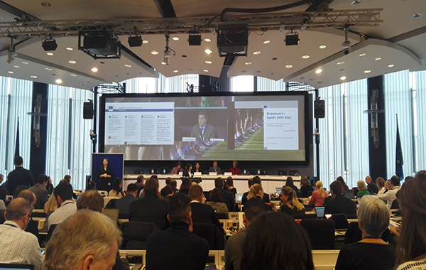 Sport Info Day, European Commission