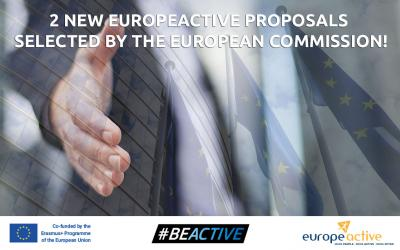 New EuropeActive projects selected