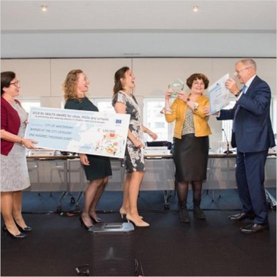EuropeActive, EU Health Policy Platform, Awards