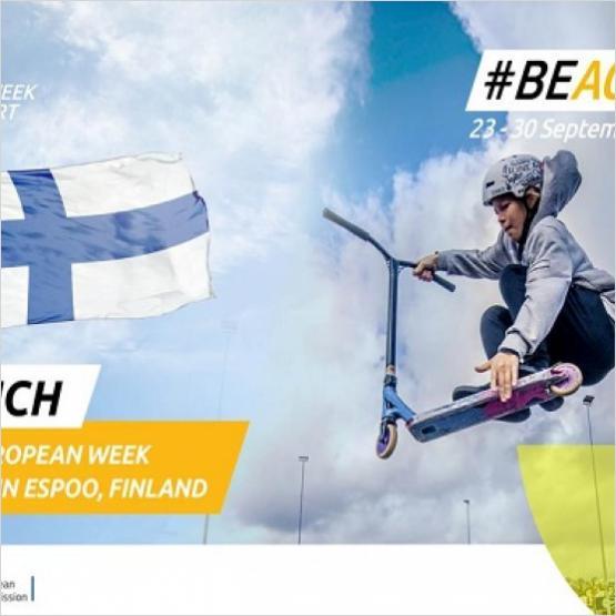 EuropeActive, #LetsBEACTIVE, European Week of Sport, Opening